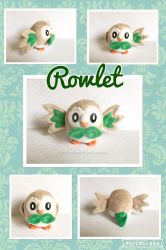 Rowlet Minky Plush FOR SALE by Ishtar-Creations