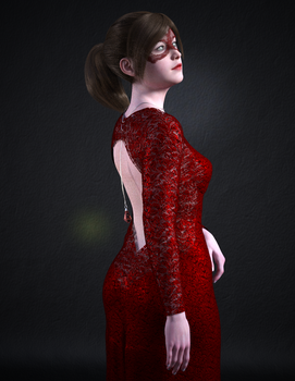 Lady in Red by romofrog