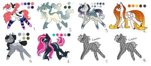 Resale Ranged MLP Adoptions 6.0 [Closed] by InspiredPixels