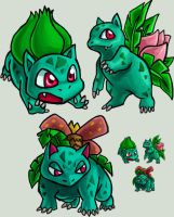 Squiby: Bulbasaur by AlkseeyaKC