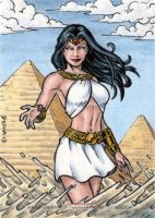 DC: Women of Legend - Isis by tonyperna