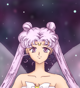 The White Queen::Sailor Moon Manga Panel Coloring by LeyRose
