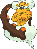 Shiny Landorus: DreamWorld Art