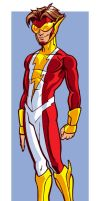 Kid Flash Redesign by D-MAC