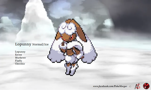 Lopunny retyping Normal Ice