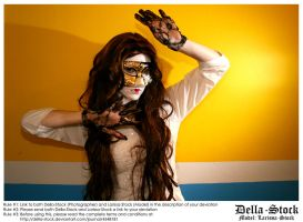 Masked Woman.9 by Della-Stock