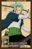 EPP - Straw Hat's Separation: Zoro by SergiART