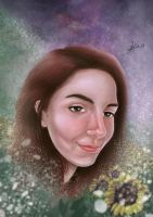 DIgital Painting portrait by CaioRob