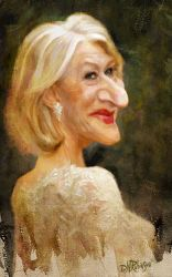 Helen Mirren by wooden-horse