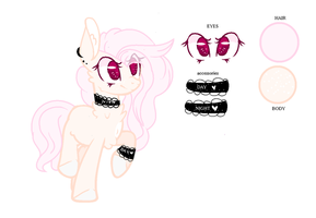 Mlp Pony Adopt And Her Ref by darleny06
