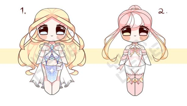 [CLOSED] Smol Chibi Adopts Auction .4 by Chromlyte
