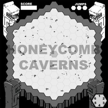 Honeycomb Caverns Game Board by soks2626