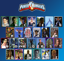 The Power Rangers Alphabet by HaiTien78