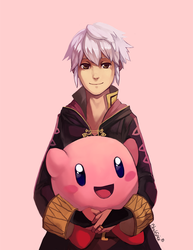 Robin And Kirby by BloodnSpice