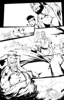 Oro - Street Fighter @ Udon by awang78