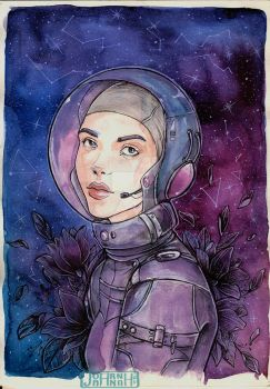 Lost In Space by koffinkandy
