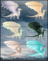 Ice Blood Adopt [ALL SOLD] by xTheDragonRebornx
