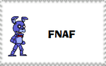 fnaf1 stamp by MuchLovePeace