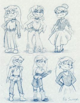 Star Outfit Designs by TheRScrooge