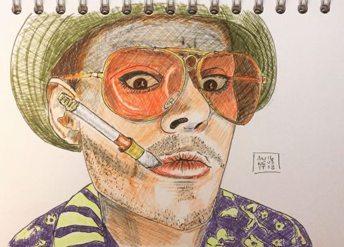 A little bit FEAR AND LOATHING  by 8Annett8