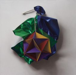 ICOSAHEDRON (OIL ON CANVAS) by DanielCaro