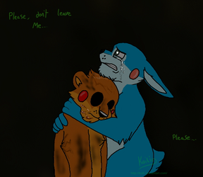FNaF - Don't Leave by Koili