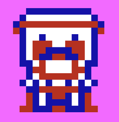 Another pic of my mario rom hack guy. by coltonphillips