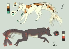 Fish/Wolf Auction CLOSED by toby21342