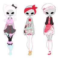 CLOSED Outfit Adopts by OptimusPrimeMyridian