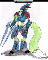 Ryke in Elite Armour by madmick2299