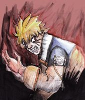 Naruto Rage by enemydownbelow