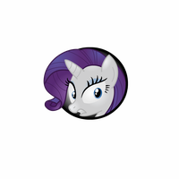 Rarity Icon by Lakword