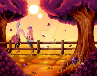 Farm afternoon by ZantChan