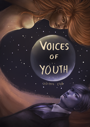 Voices of Youth Anthology Cover Design by Gtoraverse