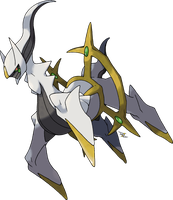 Arceus October 2010 by Xous54