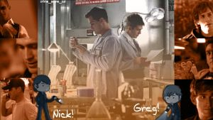 Nick and Greg by Machii-csi