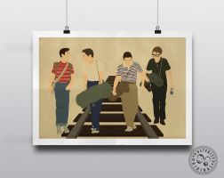 Stand by Me - Minimalist Poster Design by Posteritty