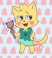 Star Butterfly alternate Universe Cat by Starr-Peach