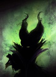 Maleficent by AVallois