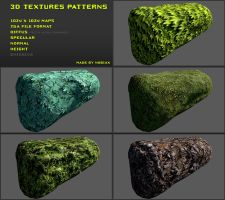 Free 3D textures pack 17 by Yughues