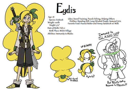 Eydis Reference Sheet 2016 New Edition Pro! by CoDeGreen