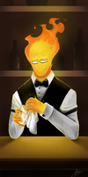 Grillby by GasterDadster