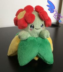 Bellossom Pokemon Plush! 5'' by GuardianEarthPlush