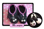 Onigiri slippers by Erikor