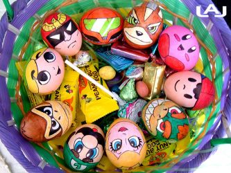 Nintendo Eggs by Red-Flare