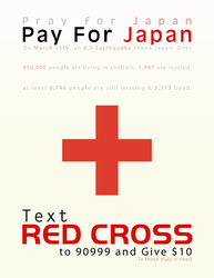Pray For Japan, Pay For Japan by ClassicTeam