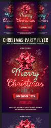 Christmas Psd Flyer Template by Hotpindesigns