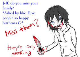 Asked by many. by Ask-Jeff-The-Killer8