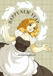 Happy new year 2011 by auroreblackcat