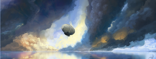Zeppelin by ConnecterGFX
